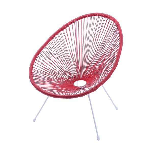 Cadeira Acapulco - Cor Vermelha