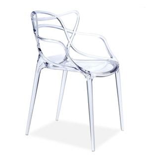 Cadeira Allegra em Policarbonato - Cor Transparente