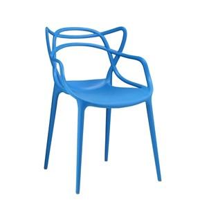 Cadeira Allegra em Polipropileno - Cor Azul