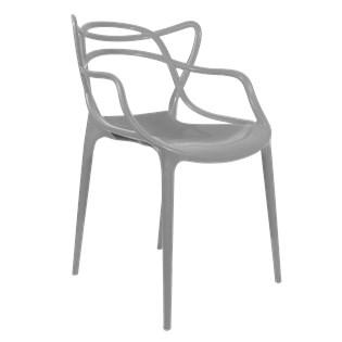 Cadeira Allegra em Polipropileno - Cor Cinza