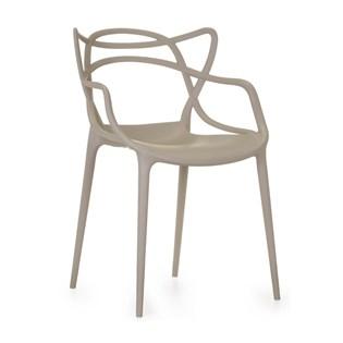 Cadeira Allegra em Polipropileno - Cor Nude