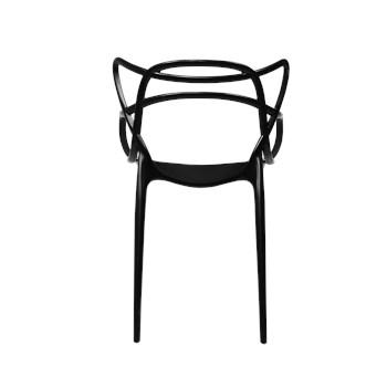 Cadeira Allegra em Polipropileno - Cor Preta
