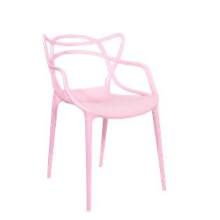 Cadeira Allegra em Polipropileno - Cor Rosa