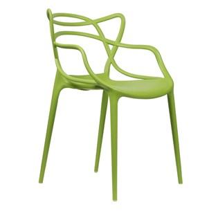 Cadeira Allegra em Polipropileno - Cor Verde