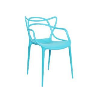 Cadeira Allegra em Polipropileno - Cor Verde Tiffany