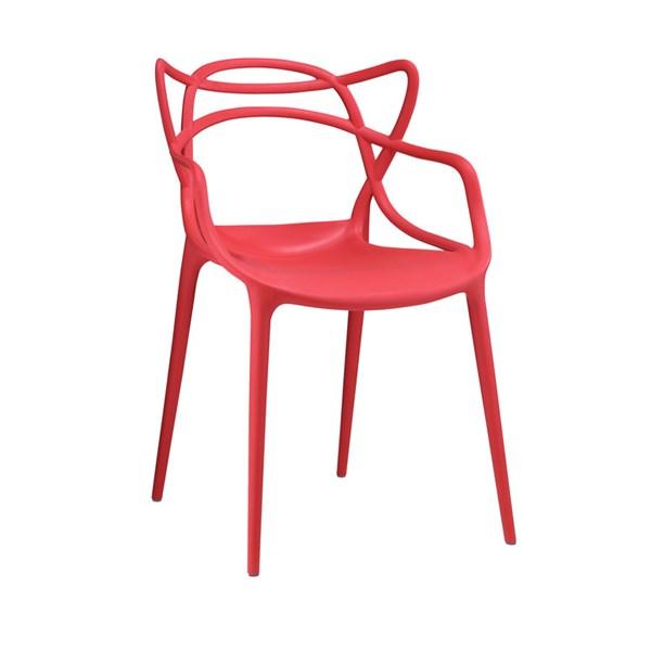 Cadeira Allegra em Polipropileno - Cor Vermelha