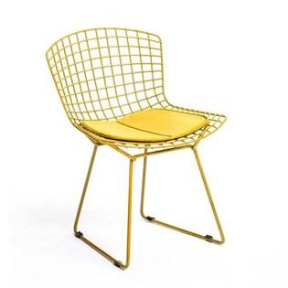 Cadeira Bertoia - Cor Amarela