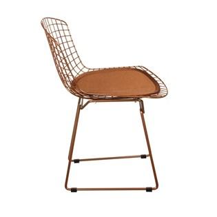 Cadeira Bertoia - Cor Cobre