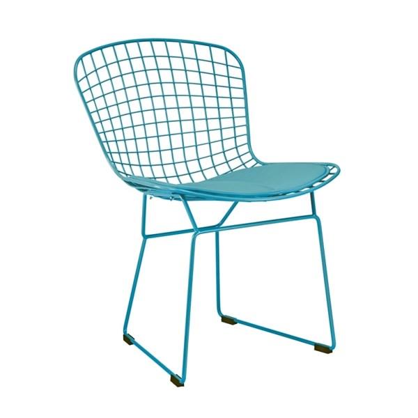 Cadeira Bertoia - Cor Turquesa