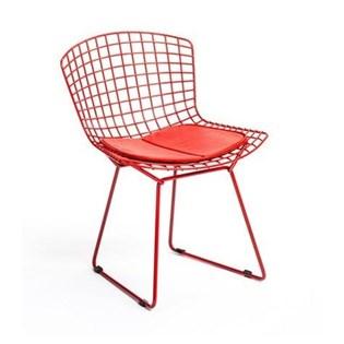 Cadeira Bertoia - Cor Vermelha