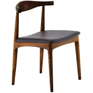 Cadeira Carina em Madeira Escura