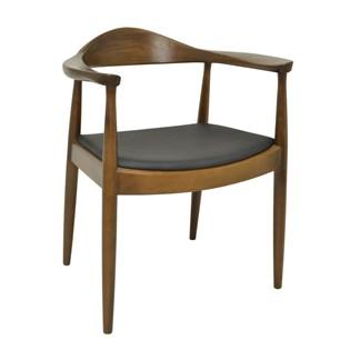 Cadeira Carolina em Madeira Escura