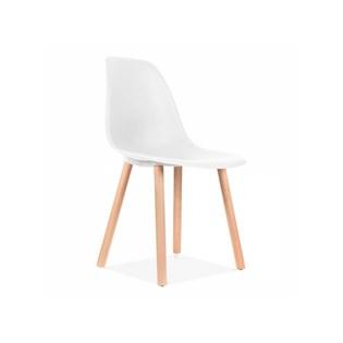 Cadeira Eames Eiffel Sem Braços Com Base Hal - Assento em Polipropileno - Cor Branca