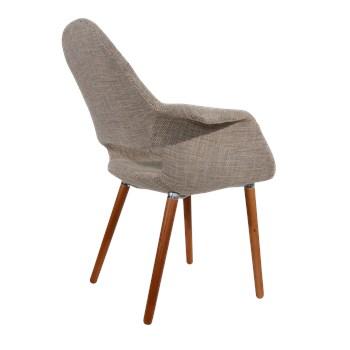 Cadeira Eames Organic - Cor Castanha Clara