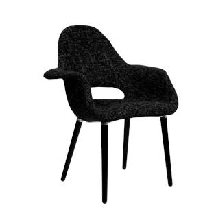Cadeira Eames Organic - Preta