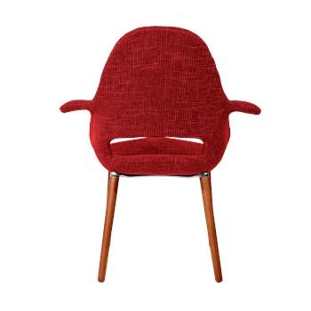 Cadeira Eames Organic - Vermelha