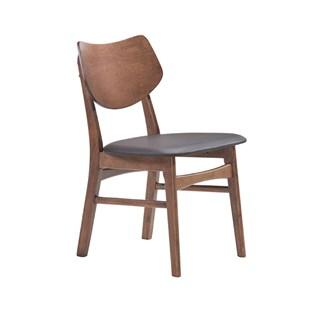 Cadeira Edna em Madeira Nogueira