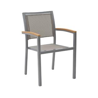 Cadeira Externa Maragogi - Cor Cinza