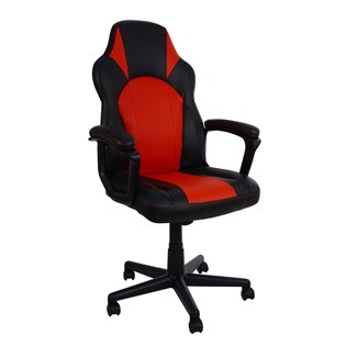 Cadeira Gamer One - Cor Preta E Vermelha