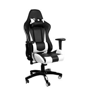 Cadeira Gamer Spider - Cor Preta e Branca