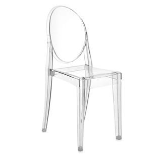 Cadeira Ghost Sem Braços em Policarbonato - Cor Transparente