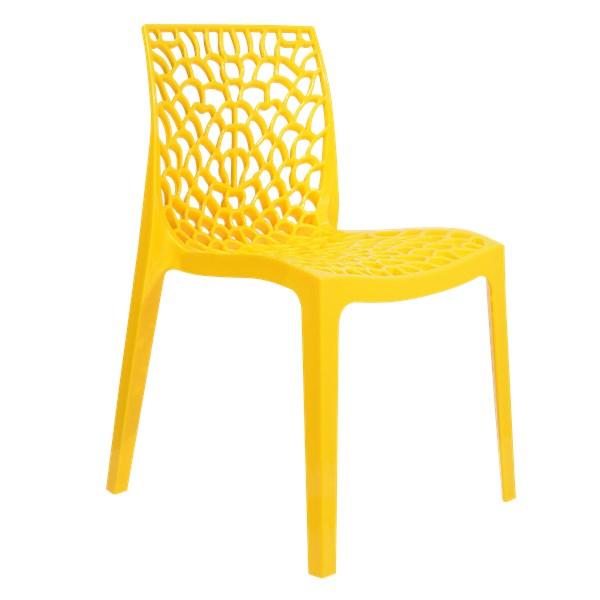 Cadeira Gruvyer - Cor Amarela