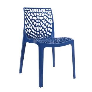 Cadeira Gruvyer - Cor Azul