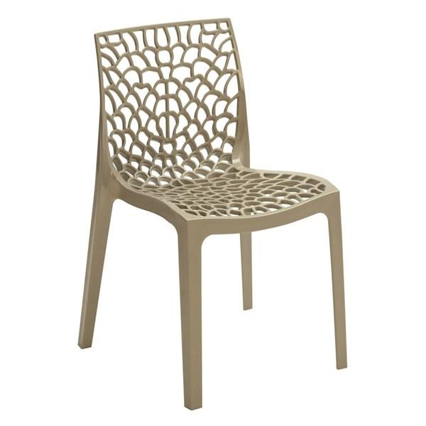 Cadeira Gruvyer - Cor Nude
