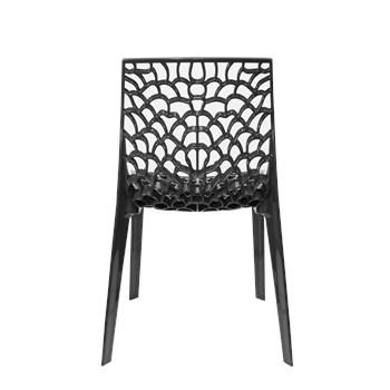 Cadeira Gruvyer - Cor Preta