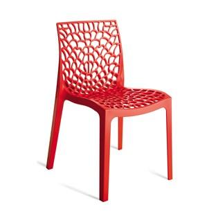 Cadeira Gruvyer - Cor Vermelha