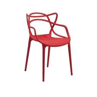 Cadeira Infantil Allegra Kids - Cor Vermelha