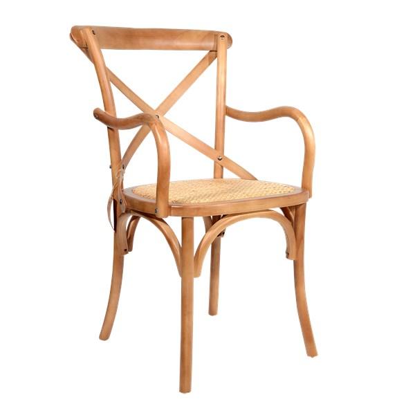 Cadeira Katrina Com Braços - Cor Bétula