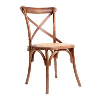 Cadeira Katrina - Cor Bétula Escurecida