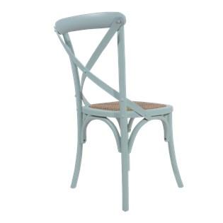Cadeira Katrina Desgastada - Cor Azul