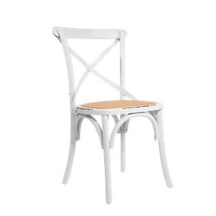 Cadeira Katrina Desgastada - Cor Branca
