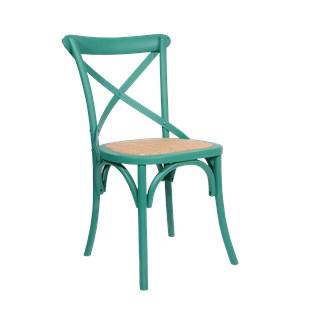 Cadeira Katrina Desgastada - Cor Verde