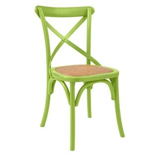 Cadeira Katrina Desgastada - Cor Verde Claro