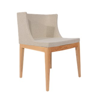 Cadeira Mademoiselle - Linho Bege