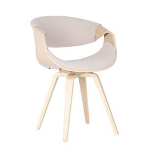 Cadeira Nicole - Em Linho Cor Cru