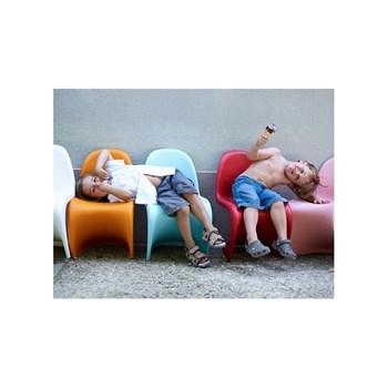 Cadeira Panton Infantil Branca com Brilho