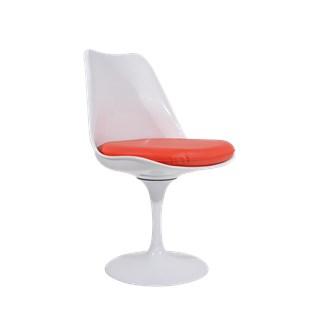 Cadeira Saarinen Tulipa Sem Braços - Cor Branca