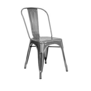 Cadeira Tolix - Aço Galvanizado
