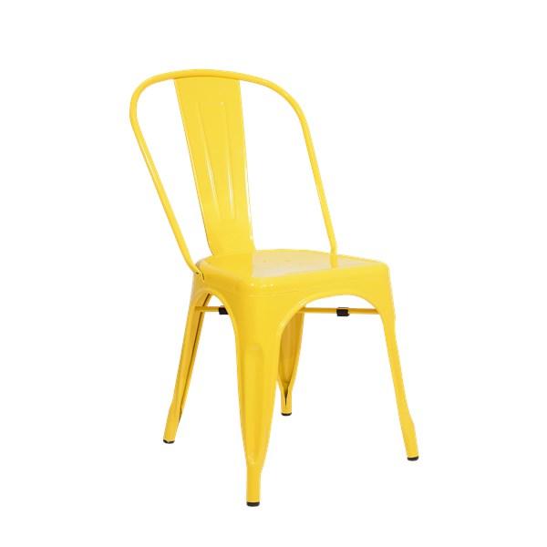 Cadeira Tolix - Cor Amarela
