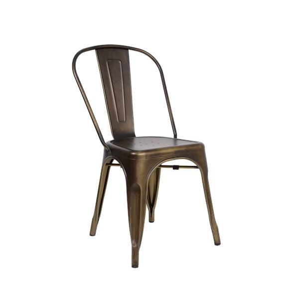 Cadeira Tolix - Cor Bronze