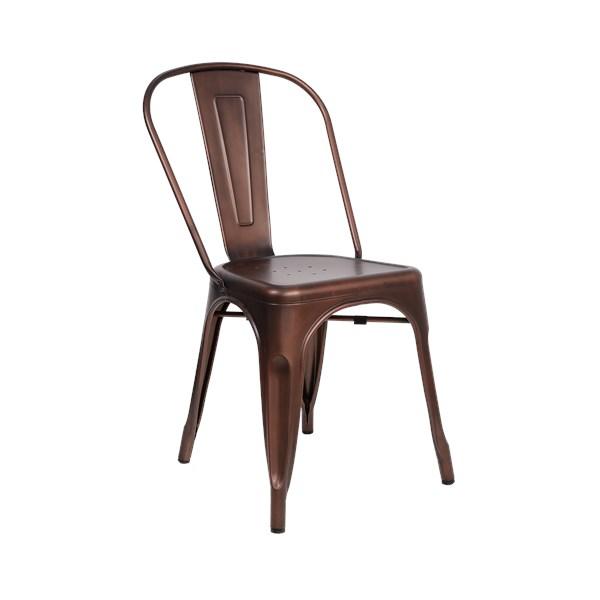 Cadeira Tolix - Cor Cobre