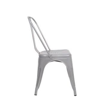 Cadeira Tolix - Cor Prata