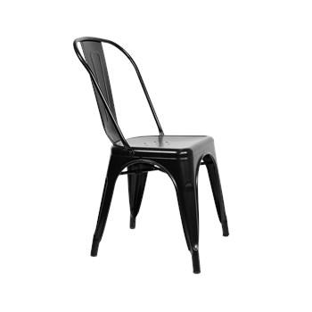 Cadeira Tolix - Cor Preta