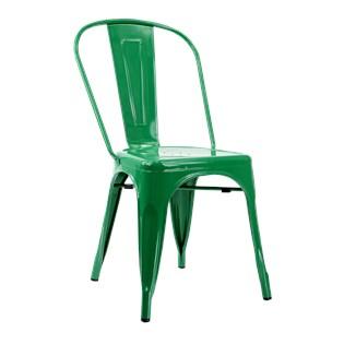 Cadeira Tolix - Cor Verde Bandeira