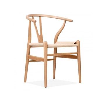 Cadeira Wishbone - Cor Natural